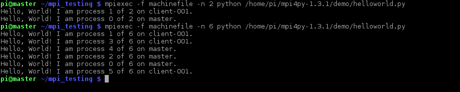 Installing MPI for Python on a Raspberry Pi Cluster - The