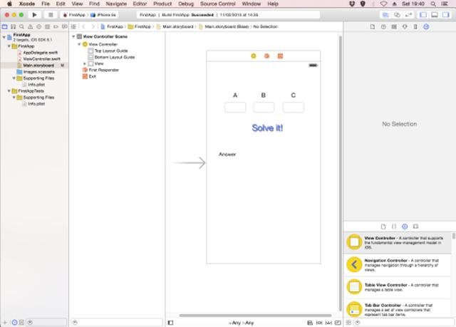 Xcode Layout editor