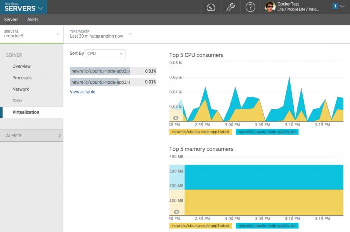 New Relic Docker Monitoring