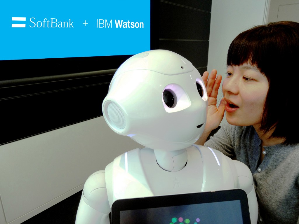 SoftBank + IBM Watson robot