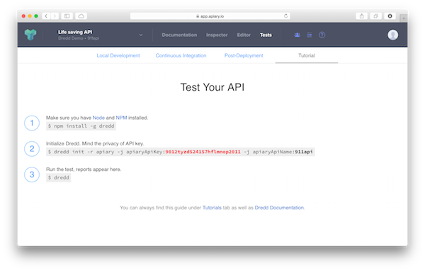 Apiary - API Testing