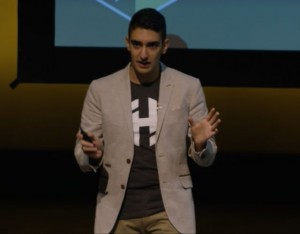 HashiCorp CTO Armon Dadgar addressing HashiConf 2015