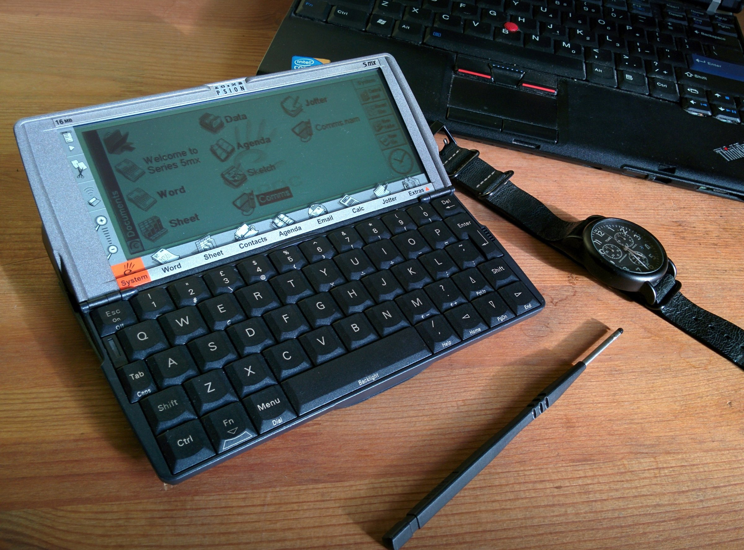 Retrocomputing in Modern Times: Rediscovering the Psion