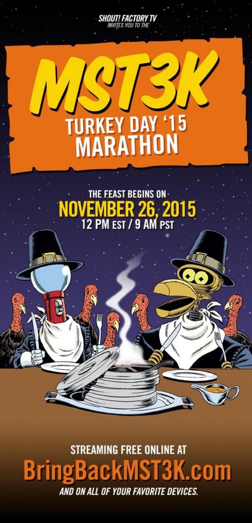 MST3K Thanksgiving marathon - 2015