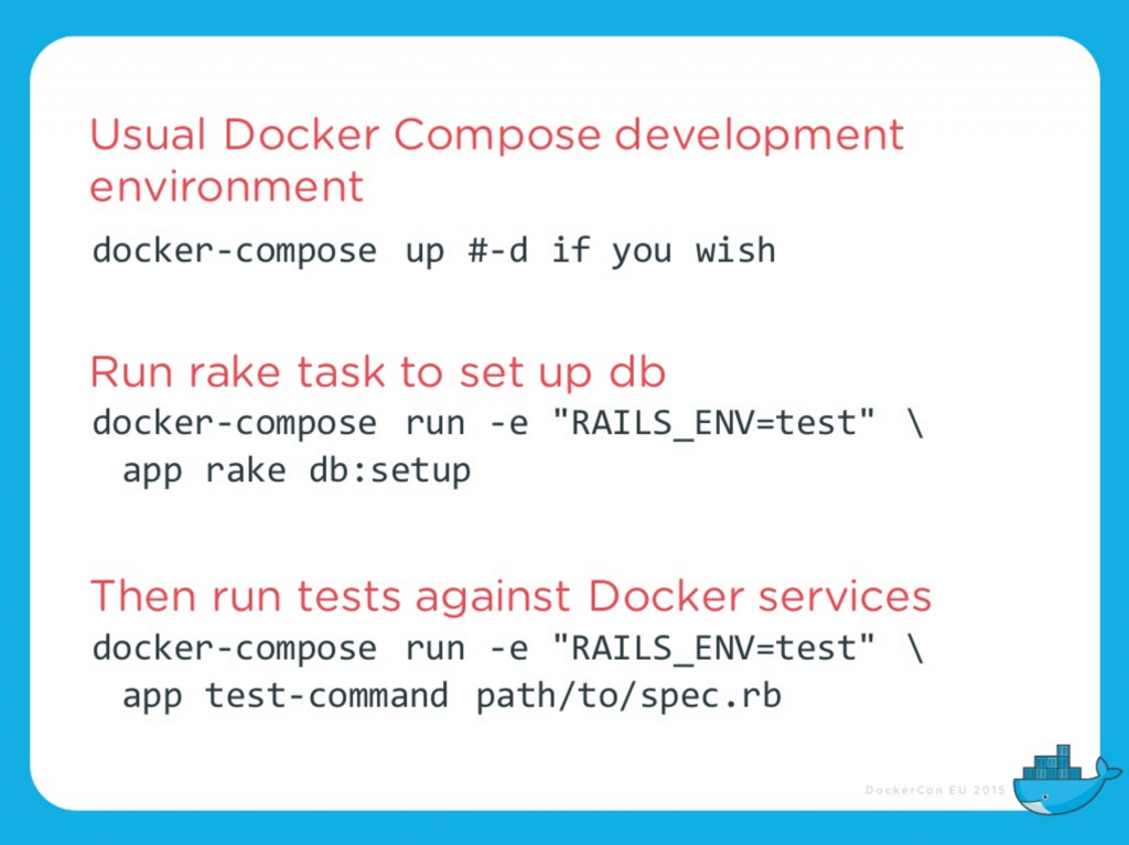 docker-compose-one-off