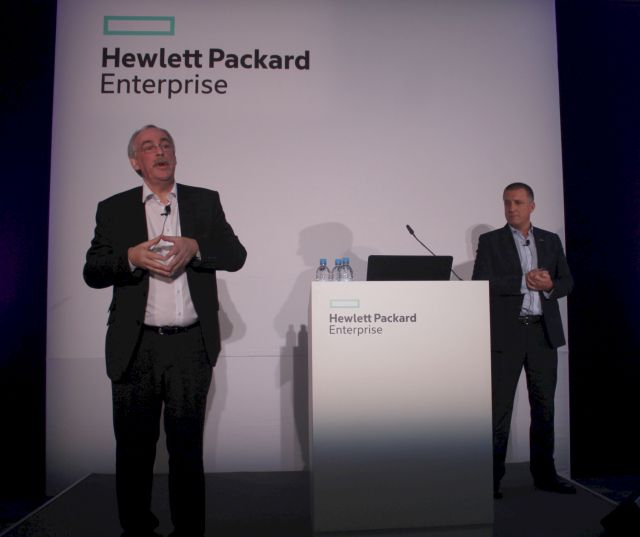 HPE's Chris Cosgrave and Alastair Winner