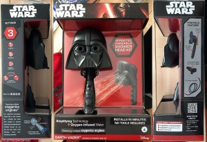 Darth Vader showerheads