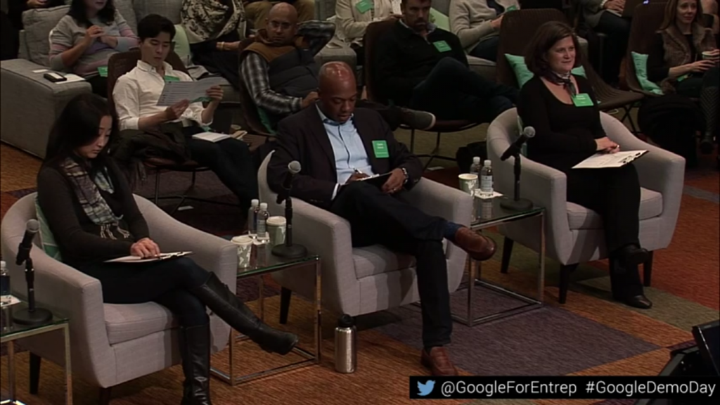 Three-Judge Panel for Google's Demo Day
