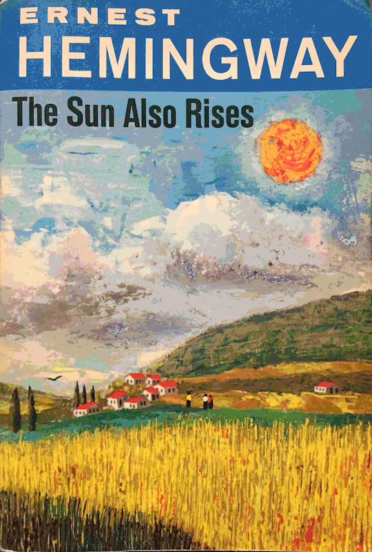 The cover of The Sun Also rises