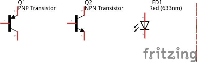 Graphic #1 - Transistors and LEDs