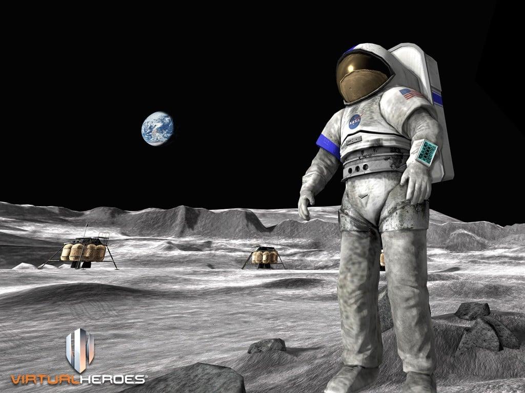 NASA's official Moonbase Alpha wallpaper