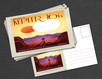 NASA JPL Postcards by Invisible Creatures