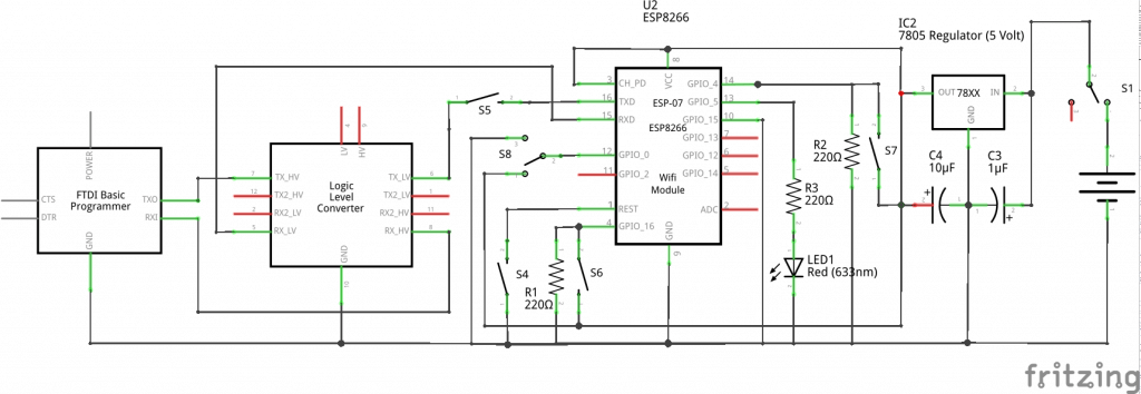 Schematics Esp 01 Esp8266 on lexus wiring schematics