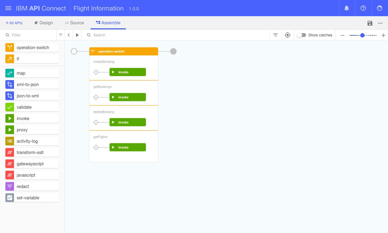 IBM API Connect assemble