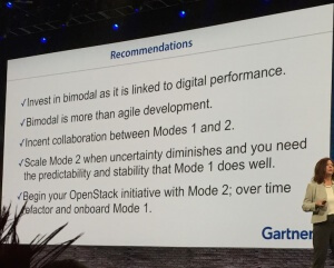 Gartner's new cloud recommendations