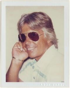 """Robert Miller,"" by Andy Warhol."