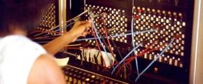 1975 telephone switchboard