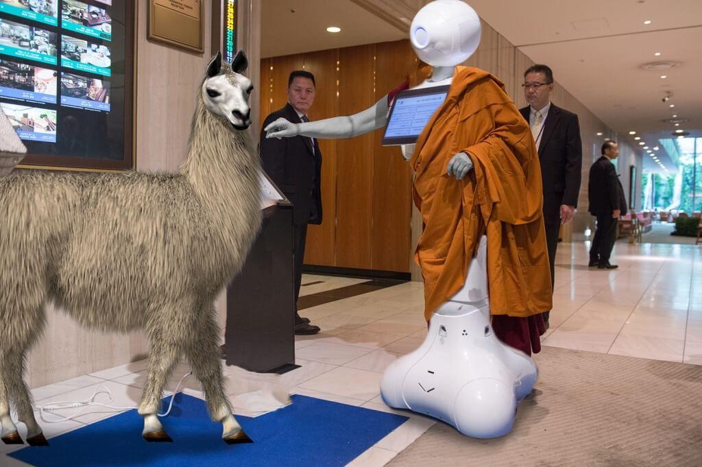 Reddit PhotoShop Battle - Robot Dalaia Lama - 0kJ6oS0