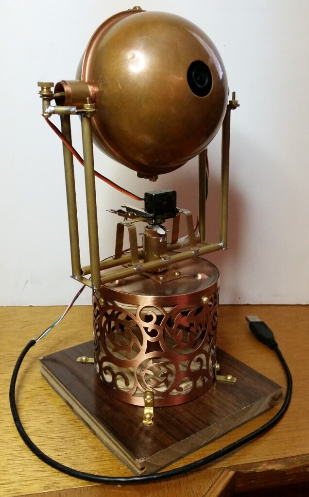 Dr. Torq's Steampunk Eye Ball