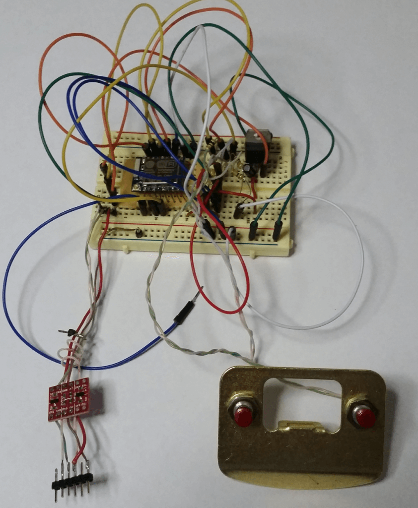 8266 Wireless Clicker Prototype