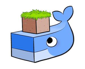 Docker meets Minecraft - the Dockercraftlogo