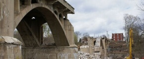 Gay Street Bridge Demolition