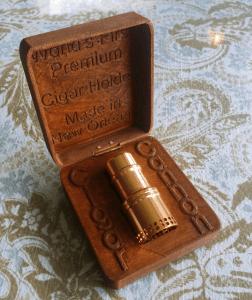 Cigar Cannon - Gold