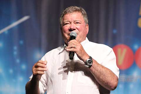 William Shatner remembers Captain Kirk - and Twilight Zone