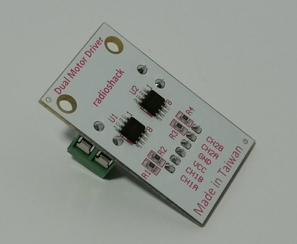 Dual-motor driver board