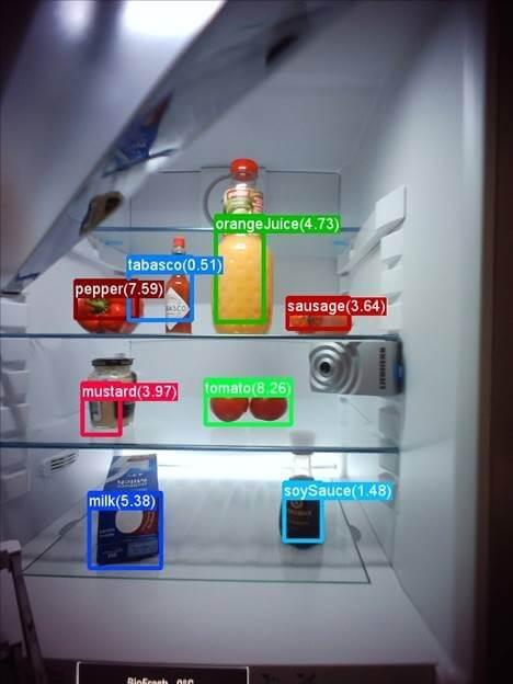 Smart refrigerator by Microsoft and Liebherr.