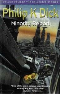 Minority report book cove