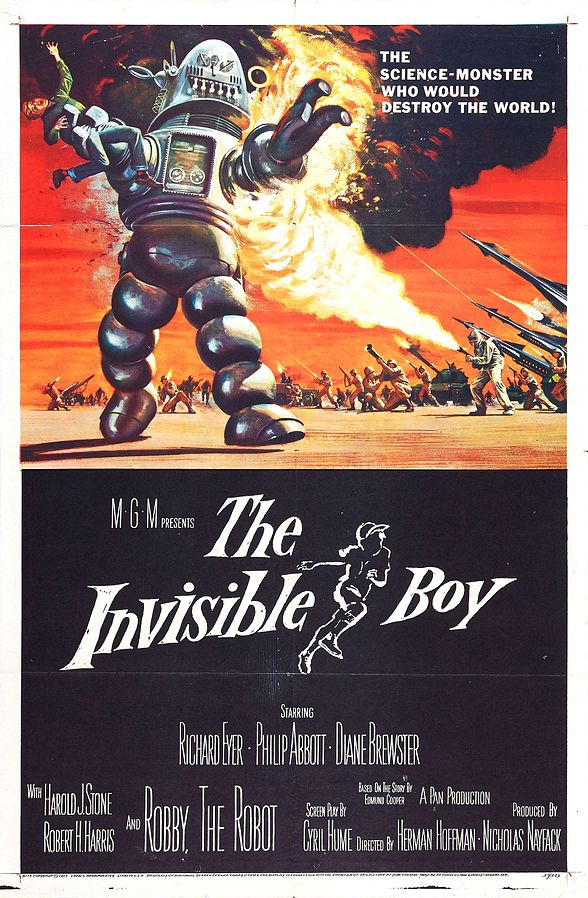 Robby the Robot in The Invisible Boy