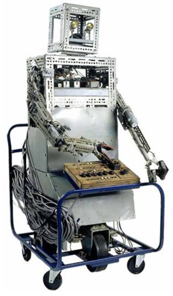 Real-life Robbie the Robot (by Bernard Smith)