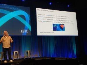 Rob High describing cognitive computing