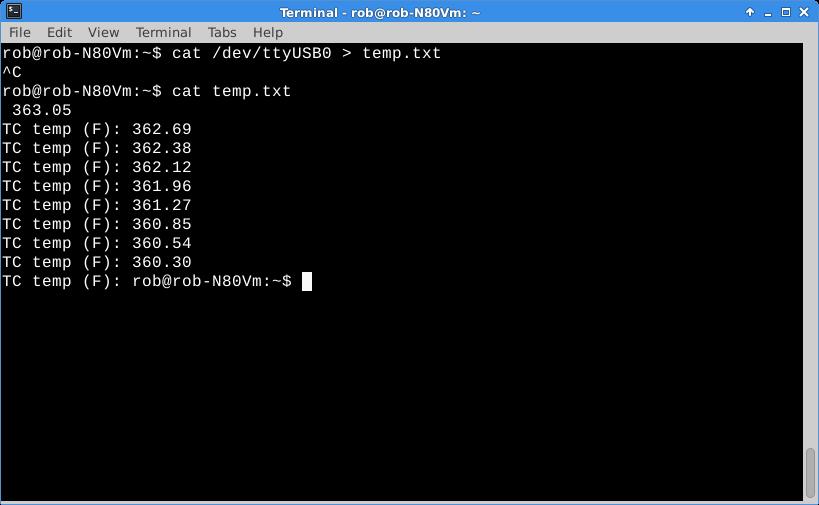"""cat"" Oven Data"